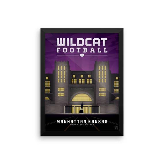 Wildcat Football Framed Print