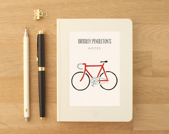 Personalised Bike Notebook (2 designs available)