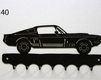 Hangs 26 cm pattern metal keys: Ford GT500 fastback