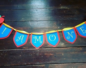 I am one banner for birthday party photo shoot first birthday party decor