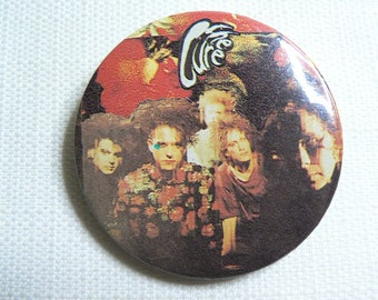 BIG Vintage 90s - The Cure - Never Enough Single (1990) Pin / Button / Badge