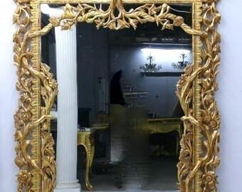 Mirror wall mirror antique Baroque style AlMi0303