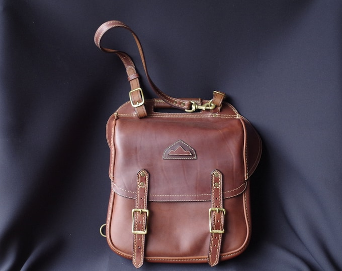 bag, Briefcase, backpack, brown leather