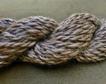 Light Brown Bulky Weight Mohair Yarn