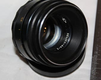 Helios 44-2 2/58 LOMO USSR M42 lens SLR camera Zenit