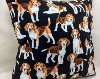Throw Pillow Accent Pillow Toss Pillow Beagle Dog Group One Home Decor Bedding Gift Dog Trophies Gifts