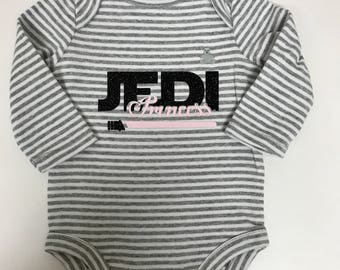 Star Wars, Jedi Princess Baby Onesie