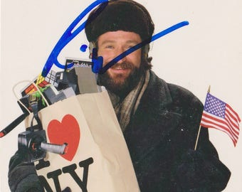 Robin Williams Original Vintage Hand Signed 4X7 Autographed Photo Moscow On The Hudson Card