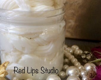 PINK MOCHA:Handmade Artisan Whipped Body Butter Paraben free Moisturizing Smoothing Rich Smelling!