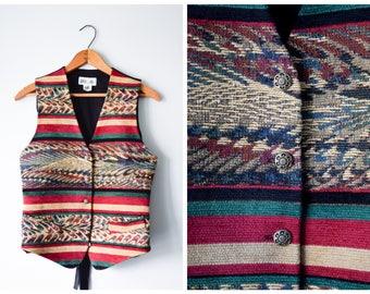 Vintage woven vest | S/M