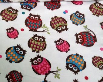 Cotton jersey, Jersey, owl