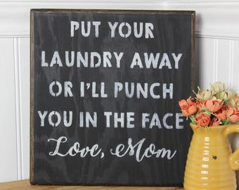 Cute Laundry Room Signs Laundry Room Sign Laundry Room Decor Wood Laundry Sign Home