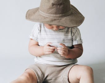 Baby Tank/Tee, Striped tee,