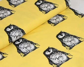 Organic Cotton Jersey Fabric | Paapii | Kaino Yellow