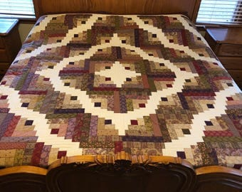 King Size Log Cabin Quilt