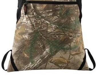 Camo Cinch Bag/Back to School/Travel/Gym Bag