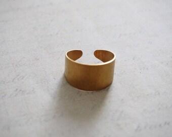 Full Adjustable ring brass 20x12mm
