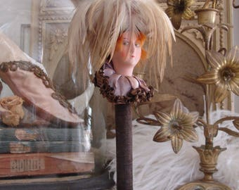 Art Deco Hat stand boudoir doll