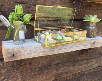 Barn wood mini shelf 2x4