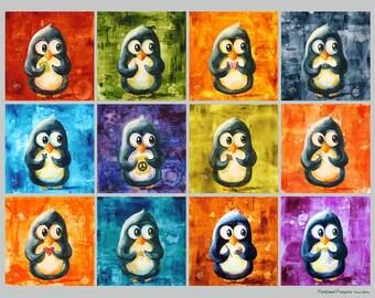 Perplexed Penguin Collection #2 - Fun Print