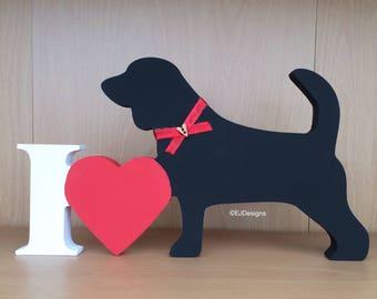 Beagle plaque, dog gift