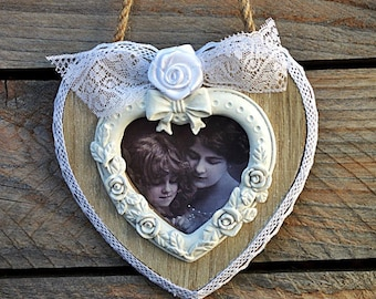 """Frame to hang """"with love"""""""