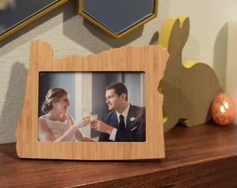 Bamboo 4x6 Picture Frame