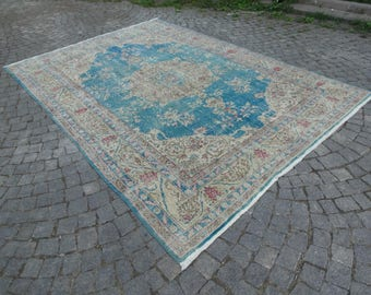 Turkish area rug,83''x118''-210x300cm - 6'91''x9'84''