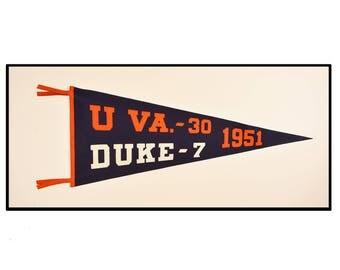 University of Virginia pennant