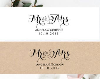 invitation belly band printable template wedding belly band mr and mrs diy editable printable