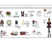 Christmas Time Icon Sheet