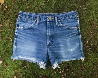Vintage 90's Wrangler High Rise Shorts