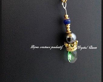 Jewelry creators pendant. Crystal Queen