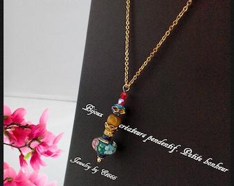 Jewelry creators pendant. Little happiness