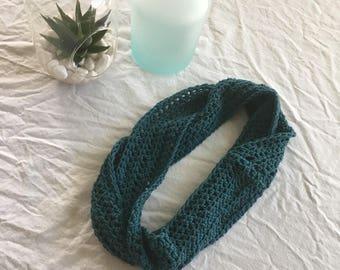 Merino wool thin scarf