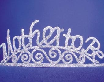 Mother to Be Sparkle Tiara Party Favor Decor
