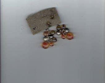 dangling balls earrings 1960's