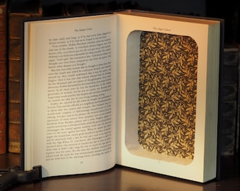 Hollow Book Safe Satanic Verses Salman Rushdie Decorative Book Gift Magical Realism