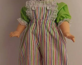 "Green Pants Set for 15"" Horsman Ruthie Dolls"
