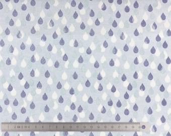 "Fabric cotton dashwood ""bird watching"" 20cm drop"
