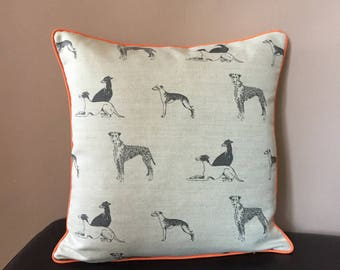 Handmade Emily Bond Dog Cushion Cover