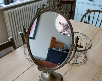 Beautiful vintage dressing table mirror