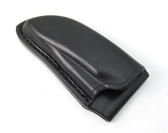 Custom Leather Sheath for Emerson Commander Folding Knife, Handmade