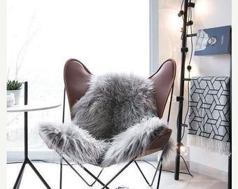 ON SALE Genuine Natural Icelandic Sheepskin Rug   Sheepskin throw   Chair Cover  Super Soft Rug  Scandinavian Style   Scandinavian Rug