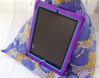 Ipad pillow stand - ipad buddy - ipad holder - tablet stand pillow - gift for her - gift for mom