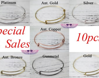 Expandable Bangle Bracelet - Adjustable Bracelet Expandable Bangle Bracelet Charm Bracelet - Kids Wire Bangles - Wire Bangles
