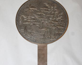 Huge Sale Fantastic Item, MUSEUM QUALITY,  Authentic Japanese Magical Mirror for a prosperous Wedding Gift