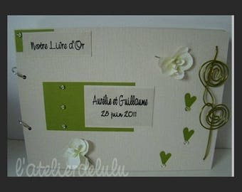 For Orchid Wedding guest book