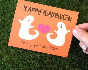 Funny halloween card | Etsy