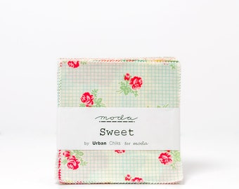 Sweet by Urban Chiks Charm Pack for Moda OOP HTF RARE